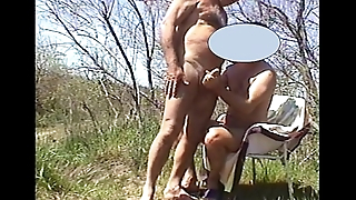 Masturbation outdoor