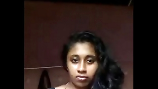 South Indian mallu girl Anjusha self made clamp leaked by her bf