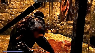 Hardcore!SEXY!Mods SKYRIM Let'_s Play Crusade of the Reaper of Souls Part 4xxx