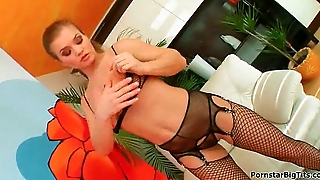 Stunning busty MILF is seduced and fucked - Milf Thing 03